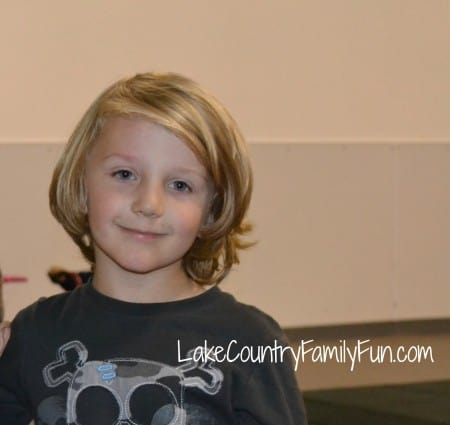 November of 2012. This is the starting point of Odyn's hair for Locks of Love.