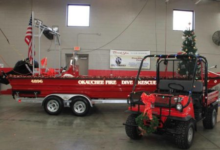Santa at Okauchee Fire Department Lake Country Family Fun