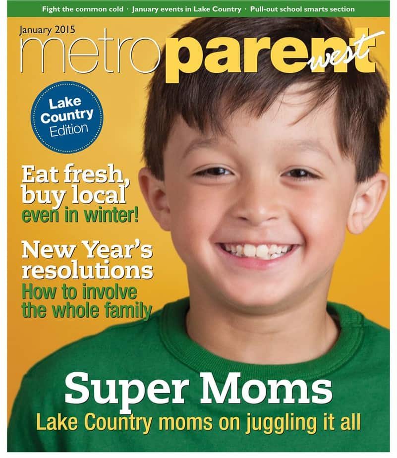 metroparent january 2015 cover