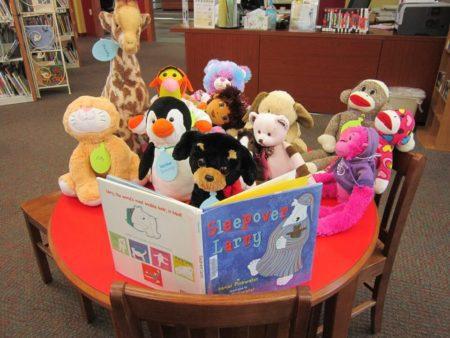 Stuffed Animal Sleepover Delafield Public Library Lake Country Family Fun