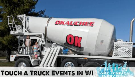 Touch a Truck Wisconsin Okauchee Redi-Mix
