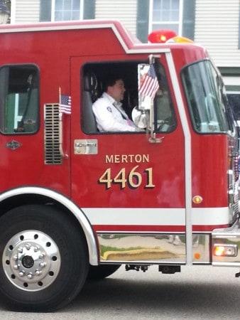 Merton Fire Department Open House Merton Memorial Day Parade Merton Community Fire Department Pancake Breakfast Lake Country Family Fun Harland Wisconsin Waukesha County