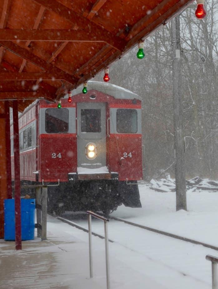Santa Train Ride, East Troy Electric Railroad East Troy Christmas Trains Lake Country Family Fun