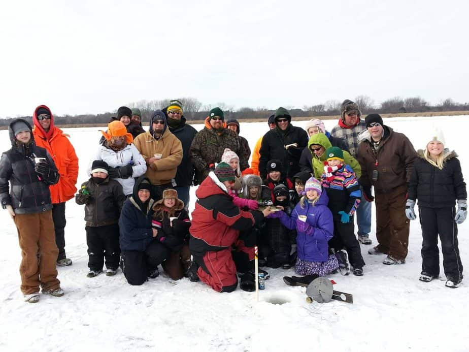 Take a Kid Ice Fishing Dousman Lake Country Family Fun Waukesha County