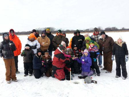 Take a Kid Ice Fishing Dousman Lake Country Family Fun Waukesha County