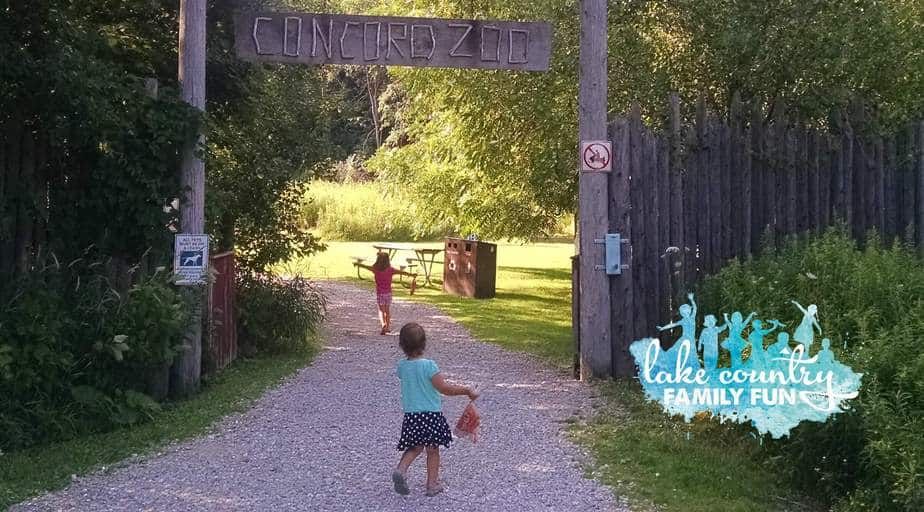 Concord Zoo July LCFF Lake Country Family Fun Hidden Gem Weekend Guide