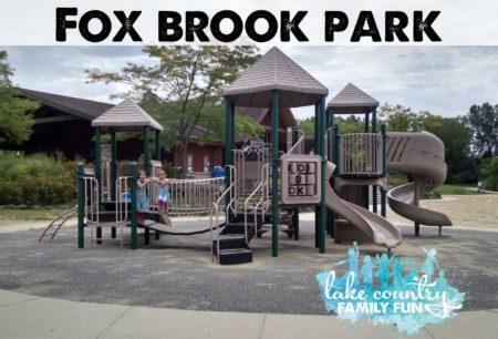 Fox Brook Park Waukesha County Parks