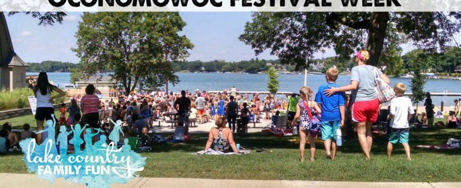 Light up the Lake Boat Parade Lac La Belle Oconomowoc Kids Day Oconomowoc Festival Week Lake Country Family Fun Beach Kids Fest Summer August
