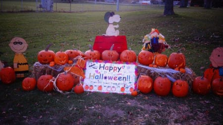 2016 Jack-o-Lantern Jaunt Girl Scouts Display