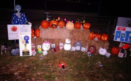 2016 Jack-o-Lantern Jaunt Winning Display