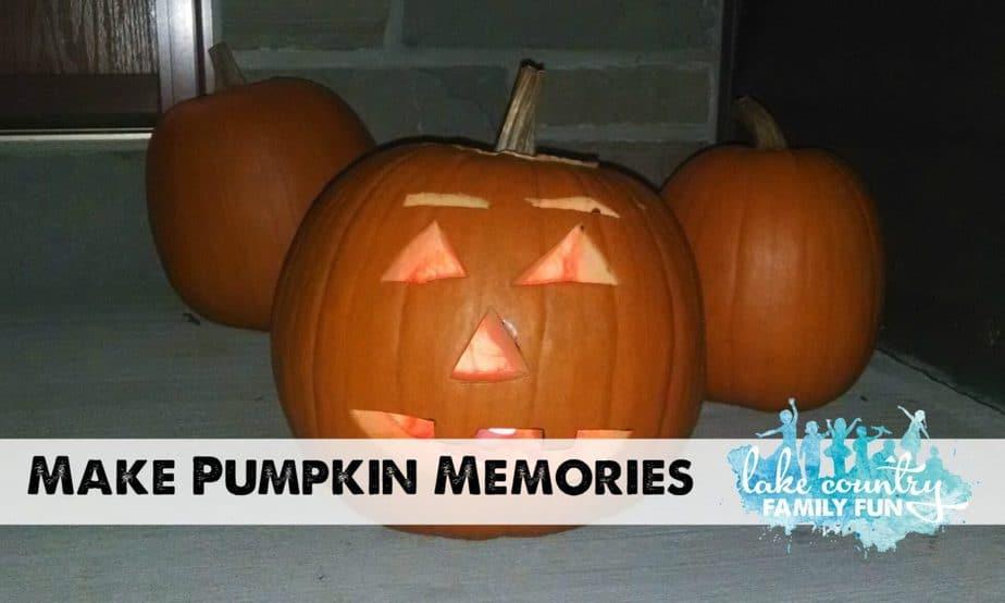 Making Pumpkin Memories
