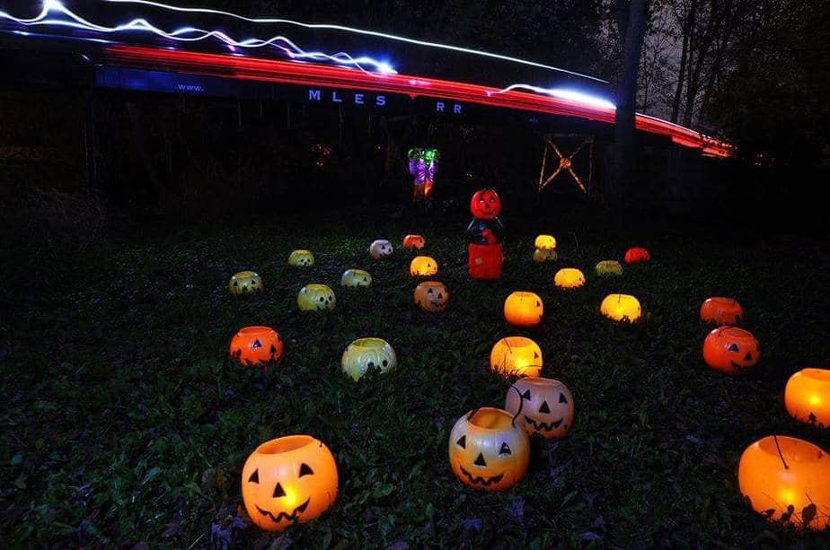 Pumpkin Train Rides