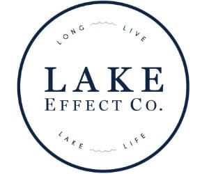 "Lake Effect Co. is a brand that celebrates the beauty and adventure of lake living, driven by the tagline ""Long Live Lake Life."" Founded by Hartland native and current Milwaukee resident Katherine Gramann, Lake Effect Co. is a community, uniting us over a shared sense of adventure and desire to savor the beauty many find so restorative about the beloved lake life. The shop features clothing for babies through adults (the most adorable onesies!) and goods such as boat totes, hats, tea towels and custom WI-made soy candles, all designed and produced locally. Jump in!"