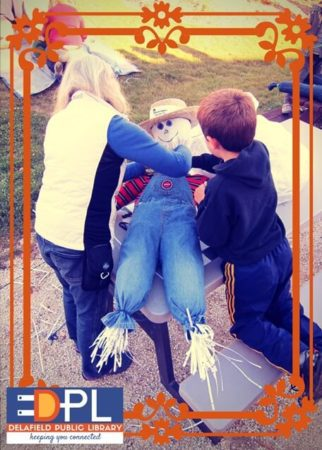 Scarecrow Making and Chili Supper at the Delafield Public Library