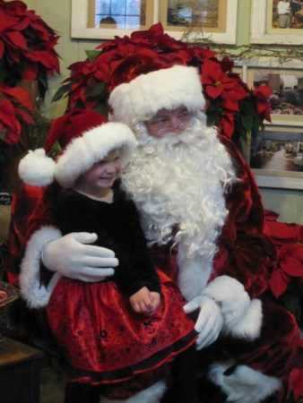 Christmas Open House at Ebert's Greenhouse Village Lake Country Family Fun
