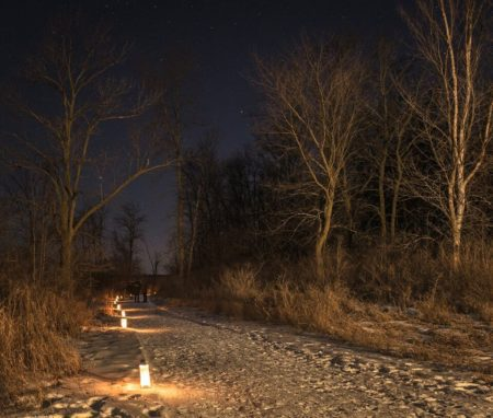 Horicon Marsh Candlelight Hike Lake Country Family Fun January Wisconson