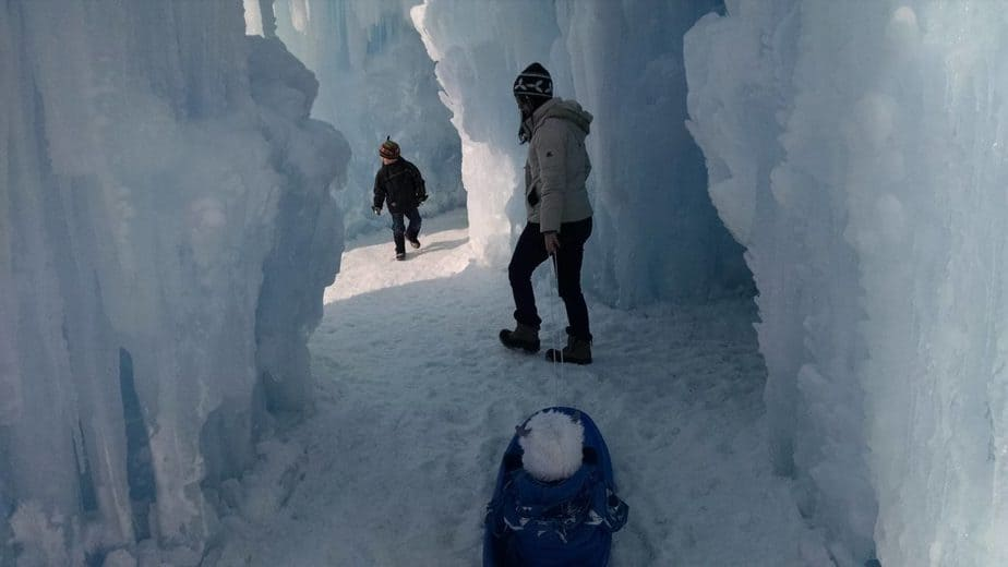 ice caves wisconsin 2020