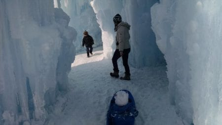 Ice Castles Lake Geneva Wisconsin Winter things to do