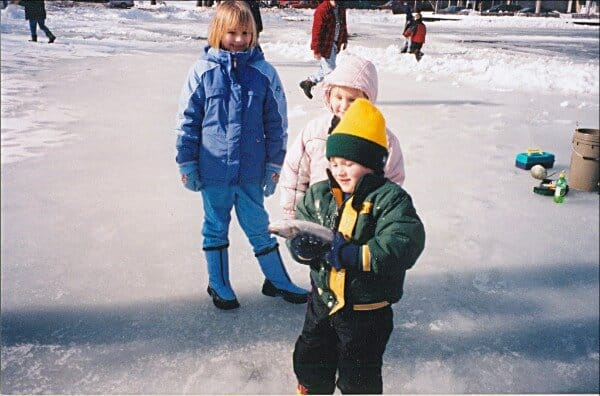 FREE WI DNR Kids Ice Fishing Clinics