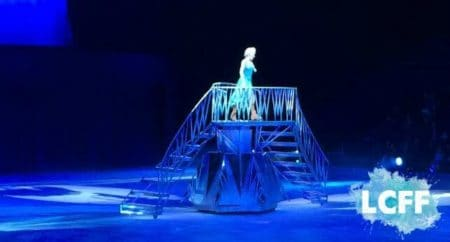 Disney on Ice Review Elsa Ice Castle Lake Country Family Fun