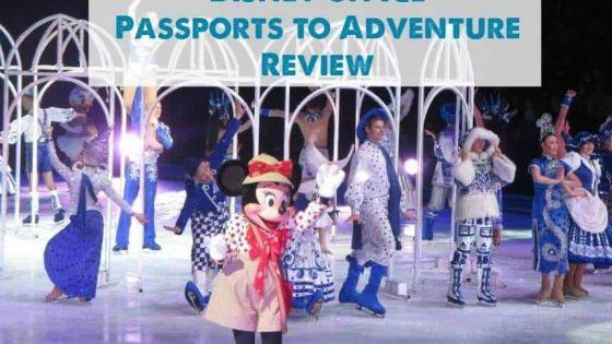 Disney on Ice Review Passports to Adventure Lake Country Family Fun