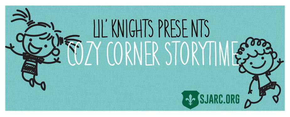 Lil' Knights Story Time cozy corner storytime Lake Country Family Fun St. Joan of Arc Nashotah