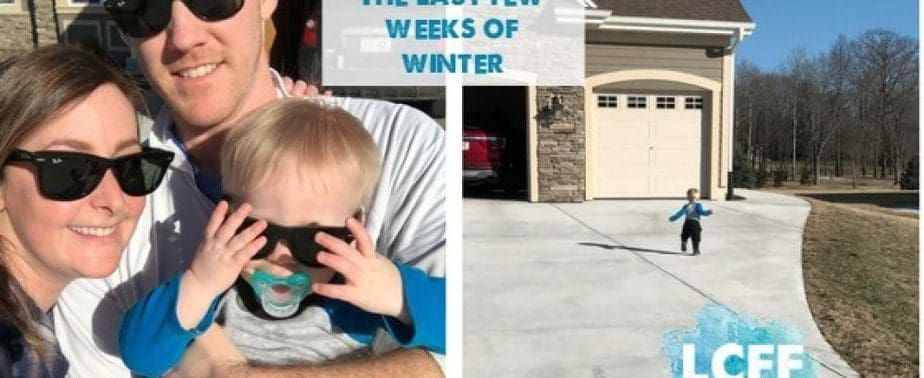 Martha Coping with the last few weeks of winter Mom Blog Lake Country Family Fun