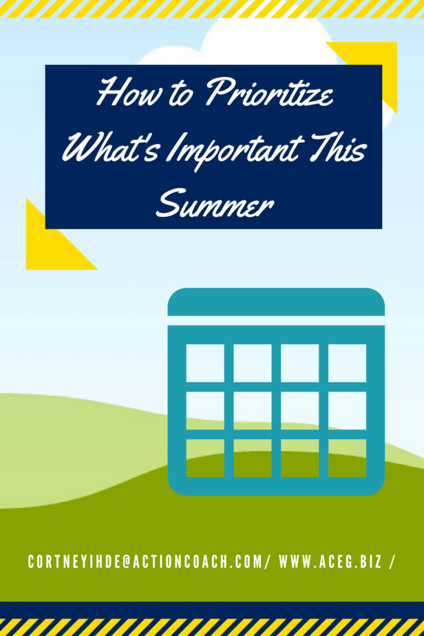 How to Prioritize What's Important This Summer Cortney Ihde Lake Country Family Fun