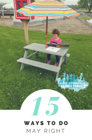 15 Ways to do May Right Lake Country Family Fun