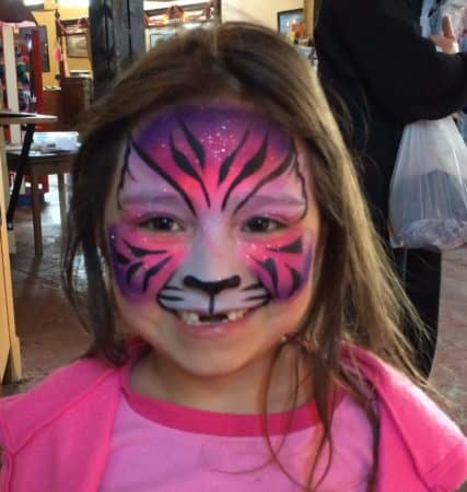 Face Painting East Troy Electric Railroad Railfest Lake Country Family Fun