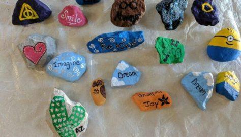 Painted Rocks in Waukesha County