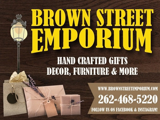 Brown Street Emporium Oconomowoc Lake Country Family Fun Outdoor market