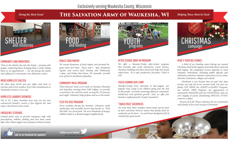 Waukesha Salvation Army Joy of Christmas Giveaway