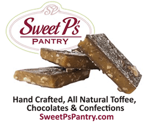 Sweet P's Pantry is located in downtown Oconomowoc. Every confection is made with natural, high quality ingredients to create the most delicious toffee and chocolates that you ever tasted!