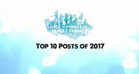 Lake Country Family Fun 2017 Top 10 Posts