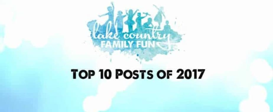 Lake Country Family Fun 2017 Top 10 Posts