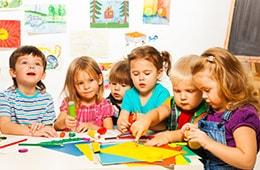 3 year old students at Hartland North Elementary