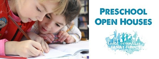 Preschool Open Houses in Lake Country