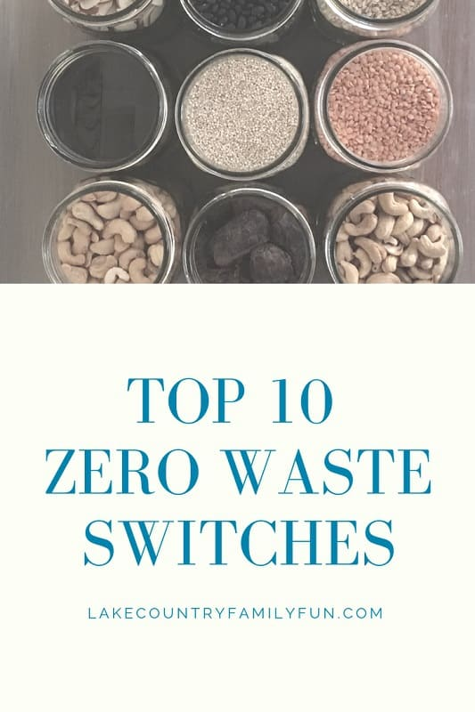 Top 10 Zero Waste Switches