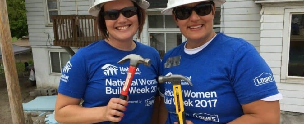 Habitat for Humanity of Waukesha County's Women Build Event 2018