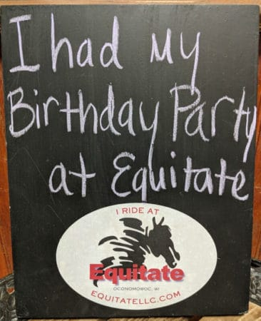 birthday party at Equitate llc
