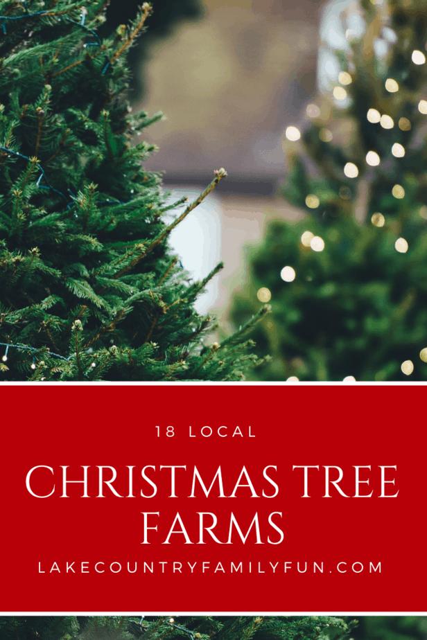 18 local Christmas Tree Farms Southeastern WI