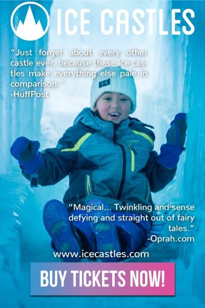 Ice Castles Lake Geneva Lake Country Family Fun