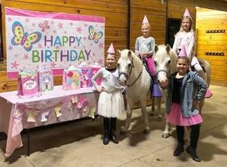 Highland Ridge pony birthday