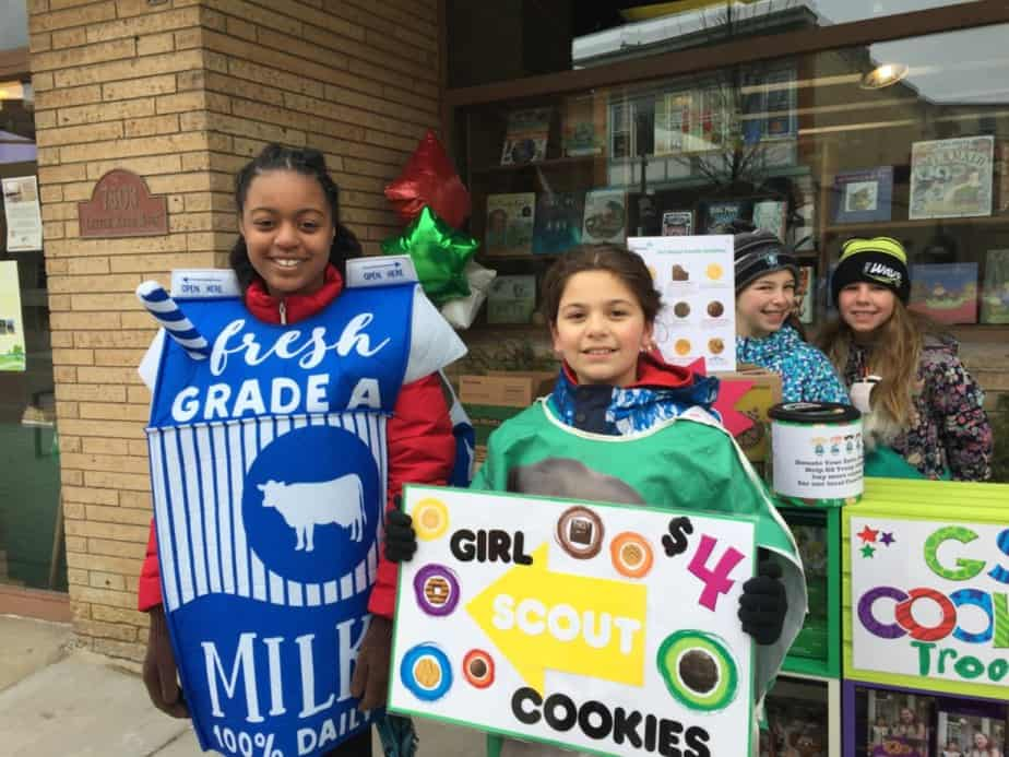 Girl Scout Cookie Weekend