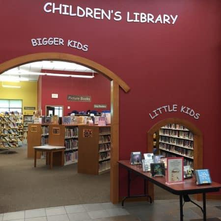 Delafield Public Library Children's entrance