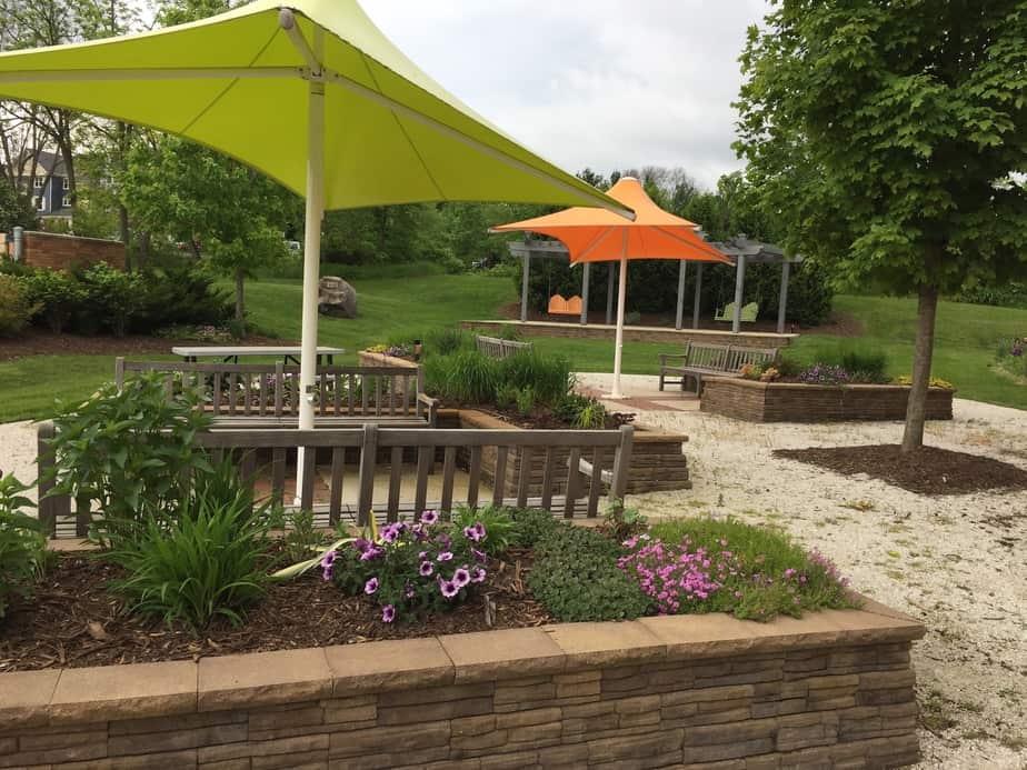 Delafield Public Library Courtyard outdoor storytime delafield