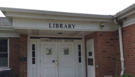 Elm Grove Library Entrance Waukesha County