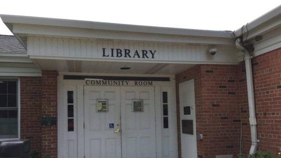 Elm Grove Library Entrance Waukesha County