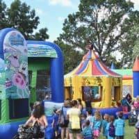 Hartland Kids Day 2019 Bounce Houses